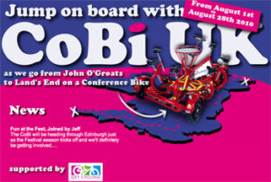CoBi UK Ride