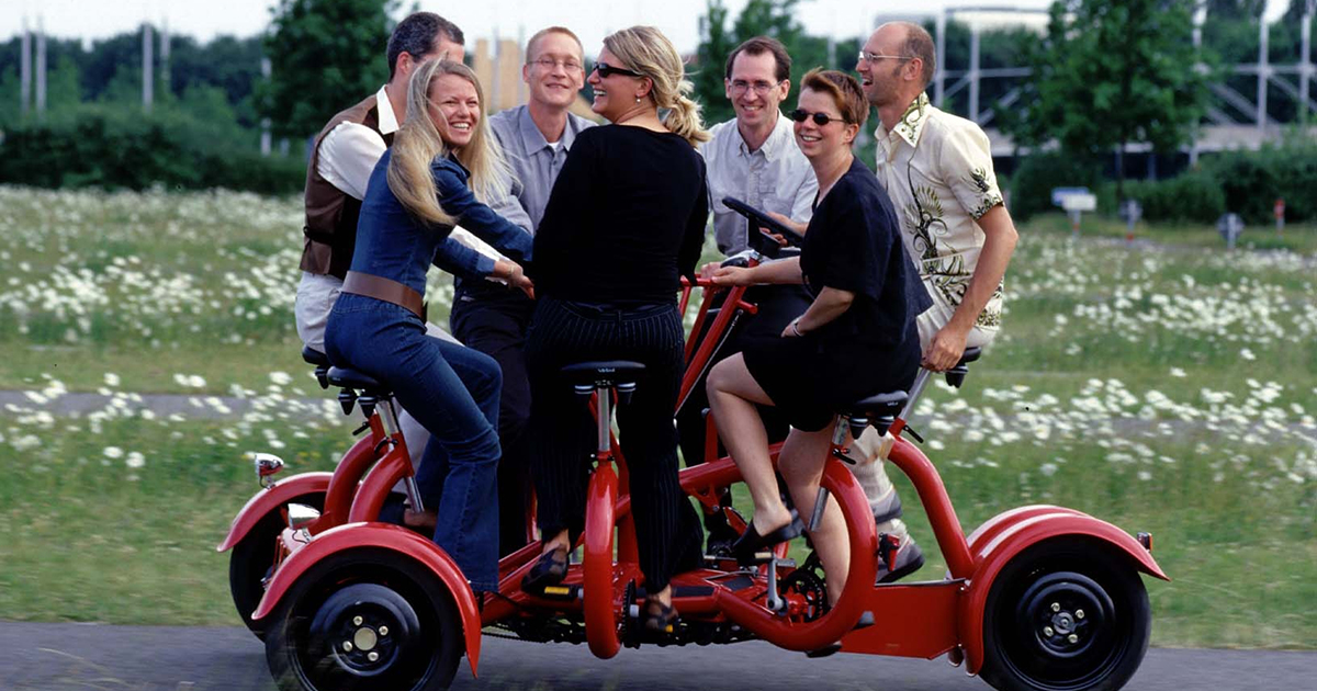 Conference Bike A Revolutionary Way To Bring People Together
